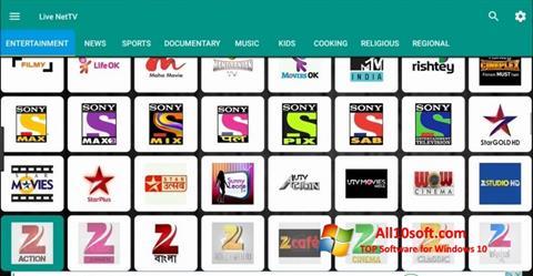 Ekran görüntüsü Net TV Windows 10