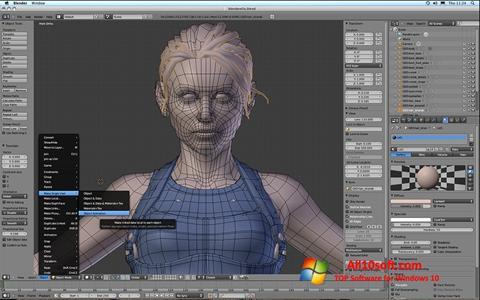 Ekran görüntüsü Blender Windows 10