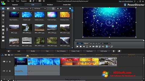 Ekran görüntüsü CyberLink PowerDirector Windows 10