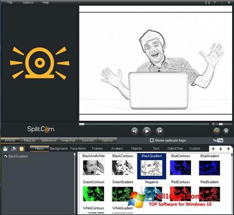 Ekran görüntüsü SplitCam Windows 10