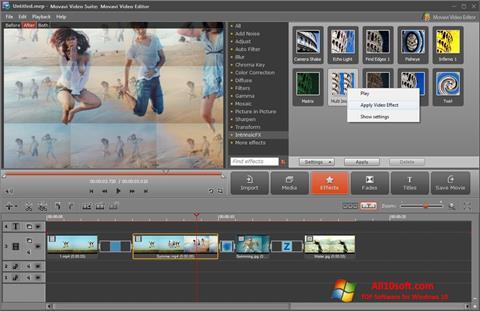 Ekran görüntüsü Movavi Video Suite Windows 10