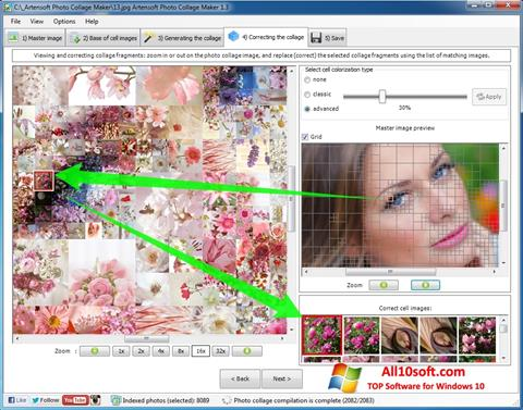 Ekran görüntüsü Photo Collage Maker Windows 10