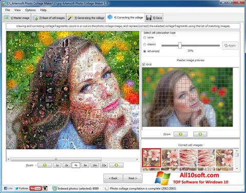 Ekran görüntüsü Photo Collage Windows 10
