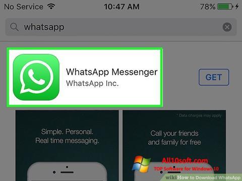 Ekran görüntüsü WhatsApp Windows 10