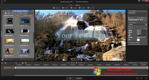 Ekran görüntüsü Pinnacle Studio Windows 10