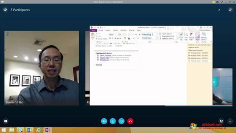 Ekran görüntüsü Skype for Business Windows 10