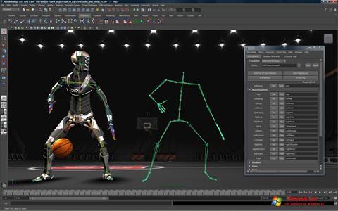 Ekran görüntüsü Autodesk Maya Windows 10